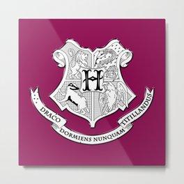 MINIMALISTIC HP | HOGWARTS Metal Print