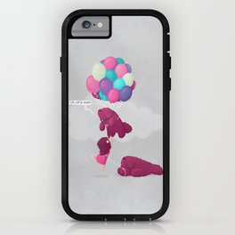 Up, Up & Away iPhone Case
