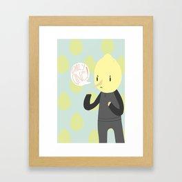 ONLY ONE LEMONGRAB Framed Art Print