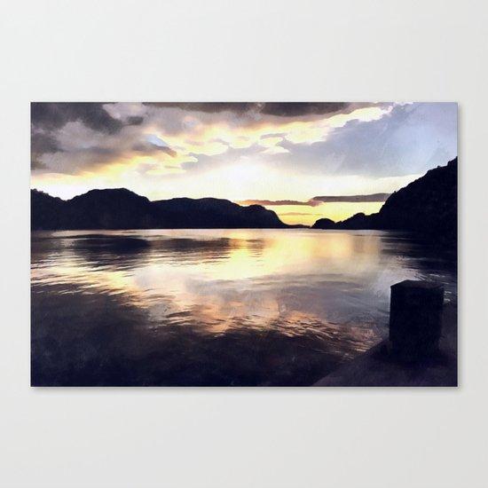 Icmeler Seascape Canvas Print