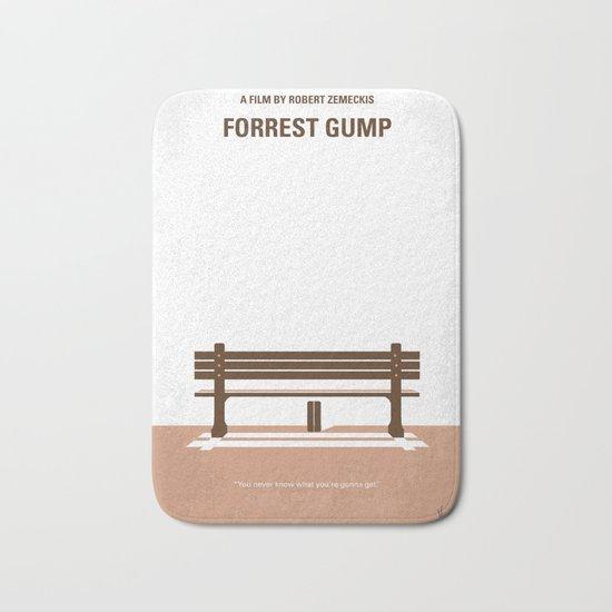 No193 My Forrest Gump minimal movie poster Bath Mat