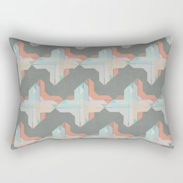 Escaping Repetition Rectangular Pillow