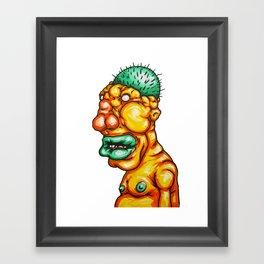 fucked for life Framed Art Print