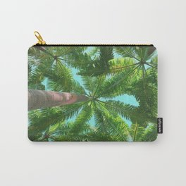 Upward View of Palm Trees Carry-All Pouch