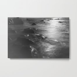 Beach Moonlight Metal Print