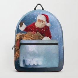Seasons Greetings from Santa Backpack