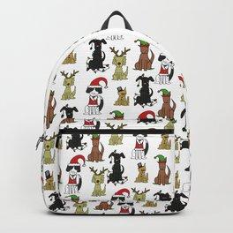 Merry Barkmas & Happy Howlidays Backpack