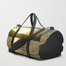 Sunset view in Muscat Oman Duffle Bag