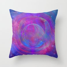 Shock Wave Throw Pillow
