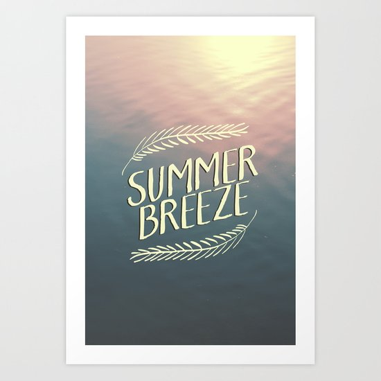 Summer Breeze II Art Print