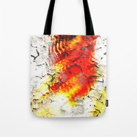 grunge Tote Bags featuring Grunge by Eleigh Koonce