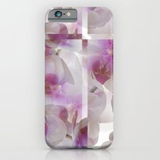 abstract orchid in bloom for present iPhone 6s Slim Case