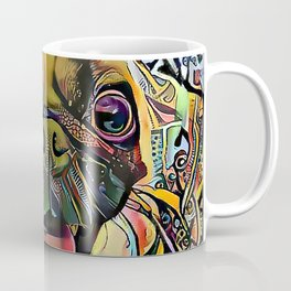 The PUG II from our POP YOUR POOCH line Coffee Mug