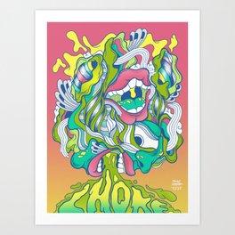 Reimagine Palahniuk - Choke Art Print
