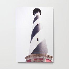 Cape Hatteras Lighthouse Metal Print