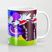 alice in wonderland Mugs featuring Wonderland  by Zero Two Thirteen