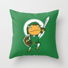 The Hero of Another World Throw Pillow