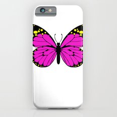 Pink Butterfly Slim Case iPhone 6s