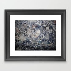 ICE COLD Framed Art Print