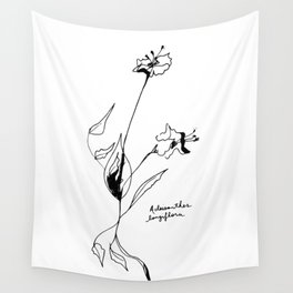 Acleisanthes longiflora Wall Tapestry
