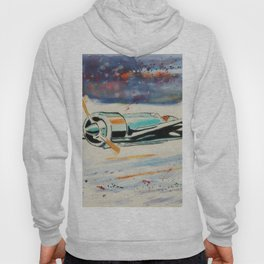 Airplane lost in the snow Hoody