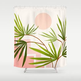 Summer in Belize Shower Curtain