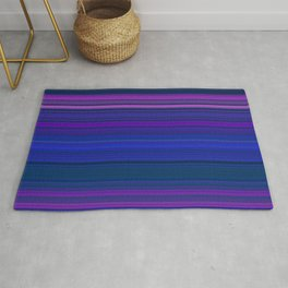 dark horizontal lines Rug