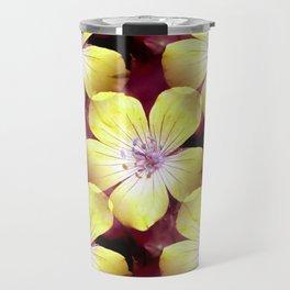 Summery Yellow.... Travel Mug