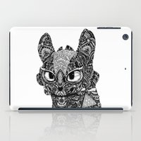 toothless iPad Cases featuring TOOTHLESS by FilippoCardu