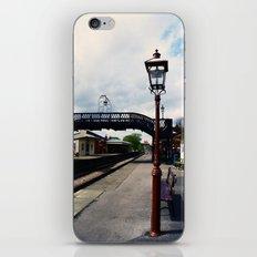 Waiting For A Train iPhone & iPod Skin