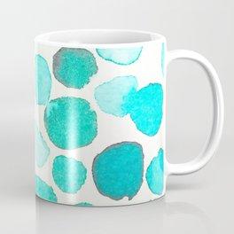 Watercolor Dots Coffee Mug