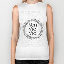 I Came I Saw I Conquered Veni Vidi Vici Biker Tank