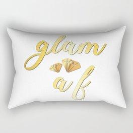 Glam As Fuck Rectangular Pillow