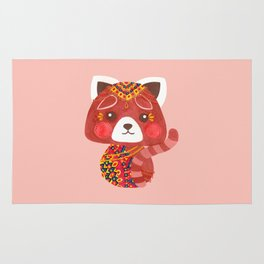 Jessica The Cute Red Panda Rug