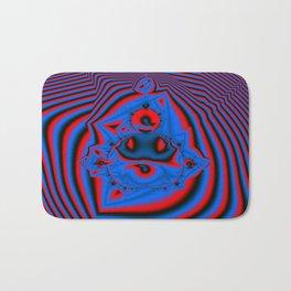 Op Art 3 ( color version) Bath Mat