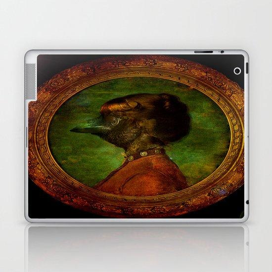 Miss Crow Laptop & iPad Skin