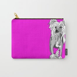 Sassy Chinese Crested Carry-All Pouch