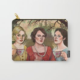 The Crawley Sisters Carry-All Pouch