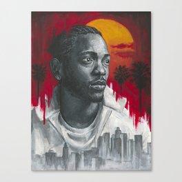 Kendrick Lamar Canvas Print