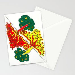Rooted caress Stationery Cards