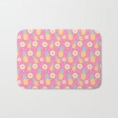 Pink Pinapple Bath Mat