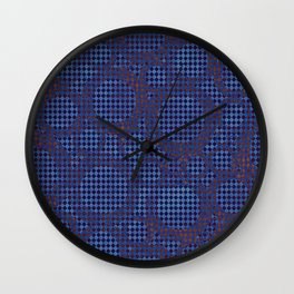 Cercles velours Wall Clock