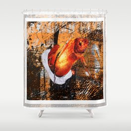 Flashy Fish Shower Curtain