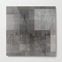 New York No. 3 | The Empire State Building + Skyline Metal Print