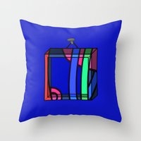 frames Throw Pillows featuring Frames 01 by Stefan Stettner