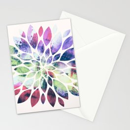 Flower Painting 2 Stationery Cards