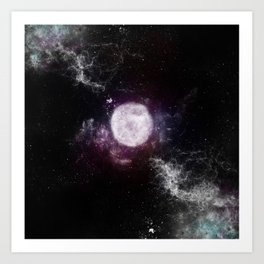 Moon Child Art Print