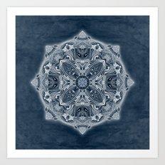 Natural Blueprint Art Print