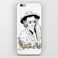 harry styles iPhone & iPod Skins featuring Harry Styles by Mariam Tronchoni