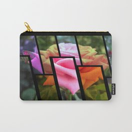 Pink Roses in Anzures 6 Tinted 1 Carry-All Pouch